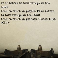 Trust in Lord rather than Princes