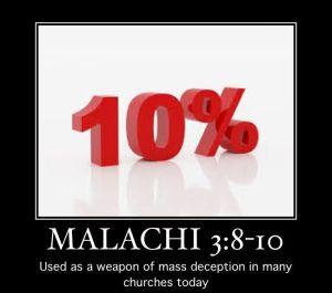 Malachi 3-8